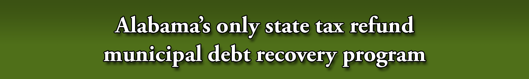Debt recovery banner V2